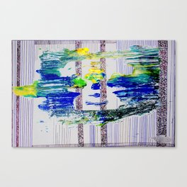 Amongst the Lines,Columns and Space Canvas Print