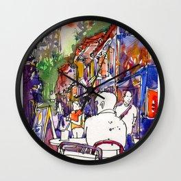 20161111 Haji Lane USKSG Wall Clock