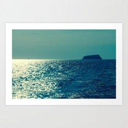 Santorini, Greece 18 Art Print
