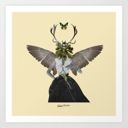 Complicated creature - melodious Art Print