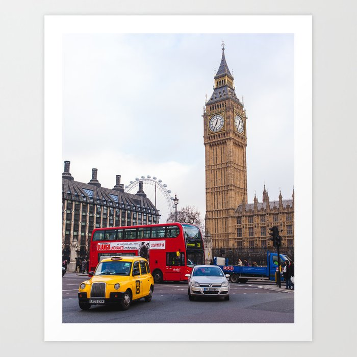 Parliament Square Art Print