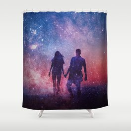 While it lasts Shower Curtain
