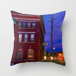Crime novel Throw Pillow