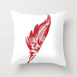 eagle feathers Throw Pillow