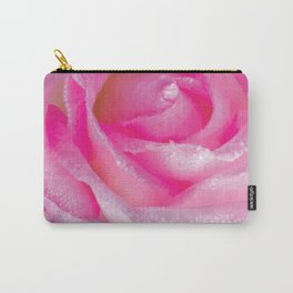 White Rose Drops Carry-All Pouch