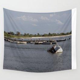 Sunken Ship, Davis Islands, Tampa, FL Wall Tapestry