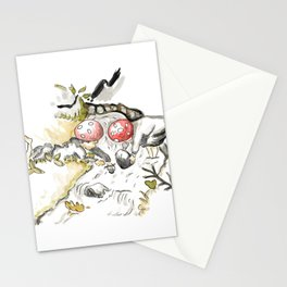 Bach - Inspiration of Elsa Beskow Stationery Cards
