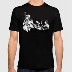 The Band MEDIUM Mens Fitted Tee Black