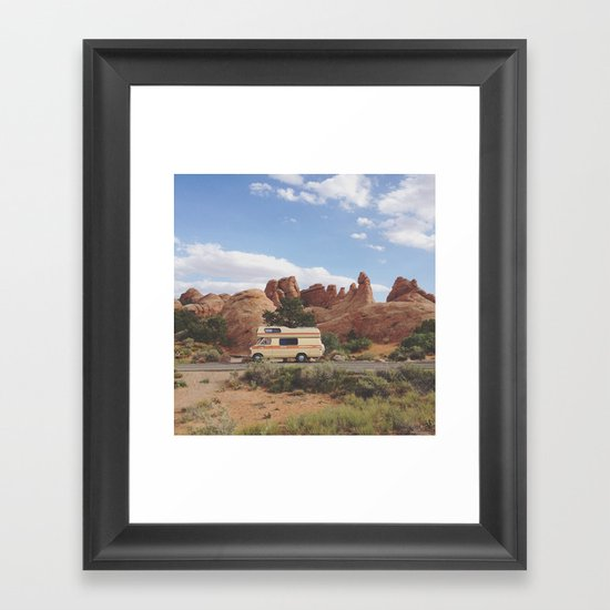 Rock Camper Framed Art Print