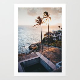 Hawaii Lookout Art Print