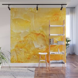 Yellow onyx marble Wall Mural