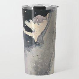 northern sea foam Travel Mug