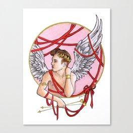 Cupid Boy Canvas Print