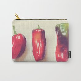 peppers photograph. hot Carry-All Pouch