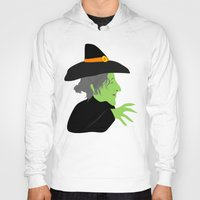 witch Hoodies featuring Witch by Jessica Slater Design & Illustration