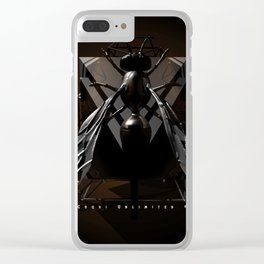 Wasp up?! Clear iPhone Case
