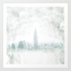 New York fantasy III Art Print