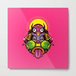 Monster Totem. Metal Print