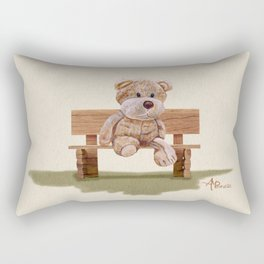 Cuddly At The Park Rectangular Pillow