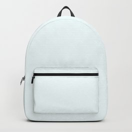 Snow - Cool White - Solid Color Collection Backpack