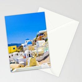 Amazing Santorini Stationery Cards