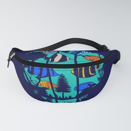 Scull Fish Fanny Pack