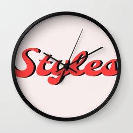 Styles Wall Clock