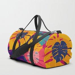 Aloha Floral Pop Art Pattern Duffle Bag