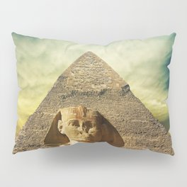 Piramid in Egypt Pillow Sham