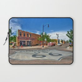 Standin on the Corner Route 66 in USA Laptop Sleeve