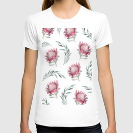 Protea and Gum Leaves T-shirt