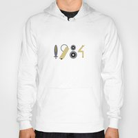 1984 Hoodies featuring 1984 by Nerd Literature