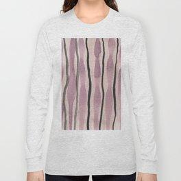 Purple watercolor Long Sleeve T-shirt