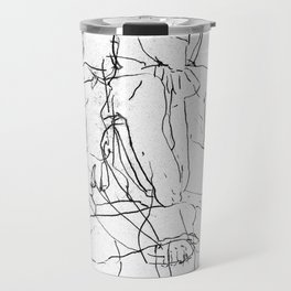 Pale Woman Travel Mug