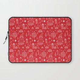 Santa Workshop Red Laptop Sleeve