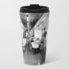 Somethings Fishy [Black & White] Travel Mug