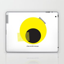 I Have an Itch on My Eye Laptop & iPad Skin