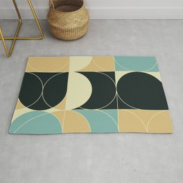 Abstract Geometric Artwork 35 Rug