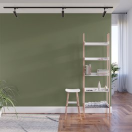 Pine Needle Green Solid Color Pairs With Behr Paint's 2020 Forecast Trending Color Secret Meadow Wall Mural