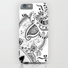 Henna Motif iPhone 6s Slim Case