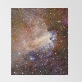 Deep-space nebula Throw Blanket