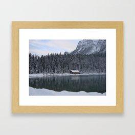 Lake Louise: Home Is Canada Framed Art Print
