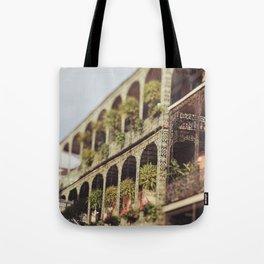 New Orleans Royal Street Balconies Tote Bag