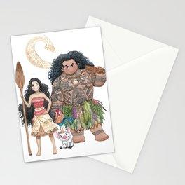 Moana (Fan Art) Stationery Cards