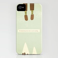 we should always know that we can do anything.  iPhone (4, 4s) Slim Case