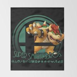 Bowser - Super Smash Bros. Throw Blanket