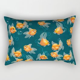 Goldfishs Rectangular Pillow