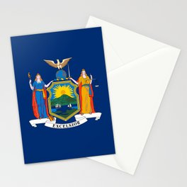 New York State Flag Stationery Cards