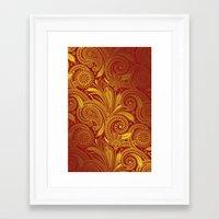 fancy Framed Art Prints featuring Fancy by Ale Ibanez