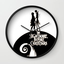 Jack and Sally - The Nightmare Before Christmas Wall Clock